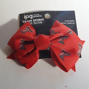 Texas Tech Red Raiders Hair Bow
